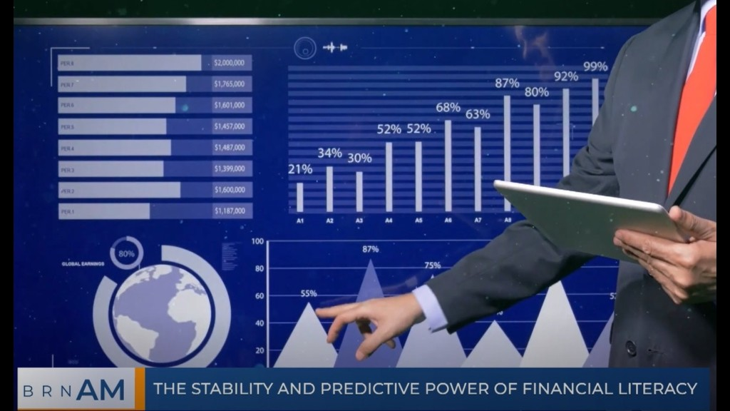ICYMI: The stability and predictive power of financial literacy