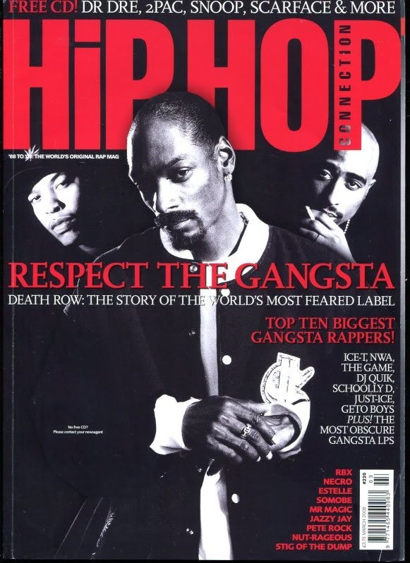RAP AND HIP HOP STYLE - Magazine cover