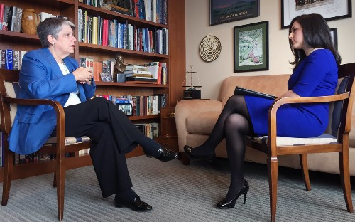 On the Red Couch: University of California President Janet Napolitano