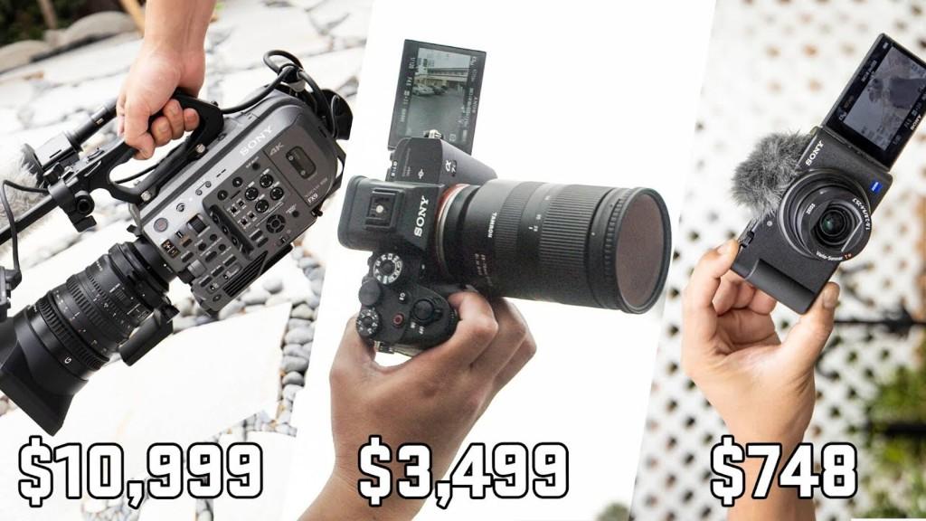 Sony Camera Showdown A7s III vs FX9 vs ZV-1
