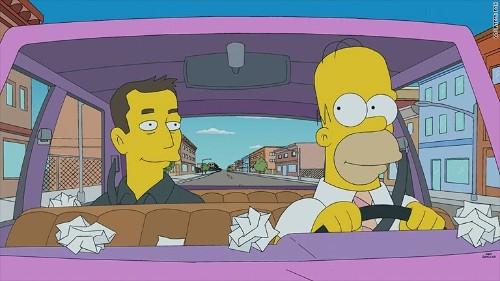 Elon Musk stars on The Simpsons