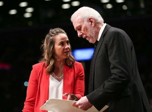 League ready for female head coach says NBA's diversity boss