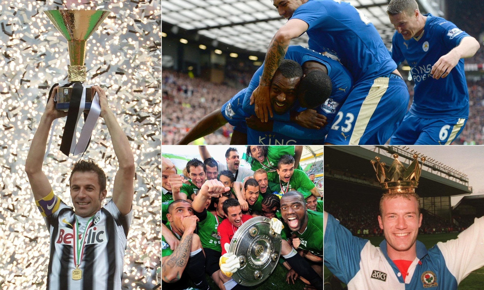 How Leicester City's triumph compares with other title winners