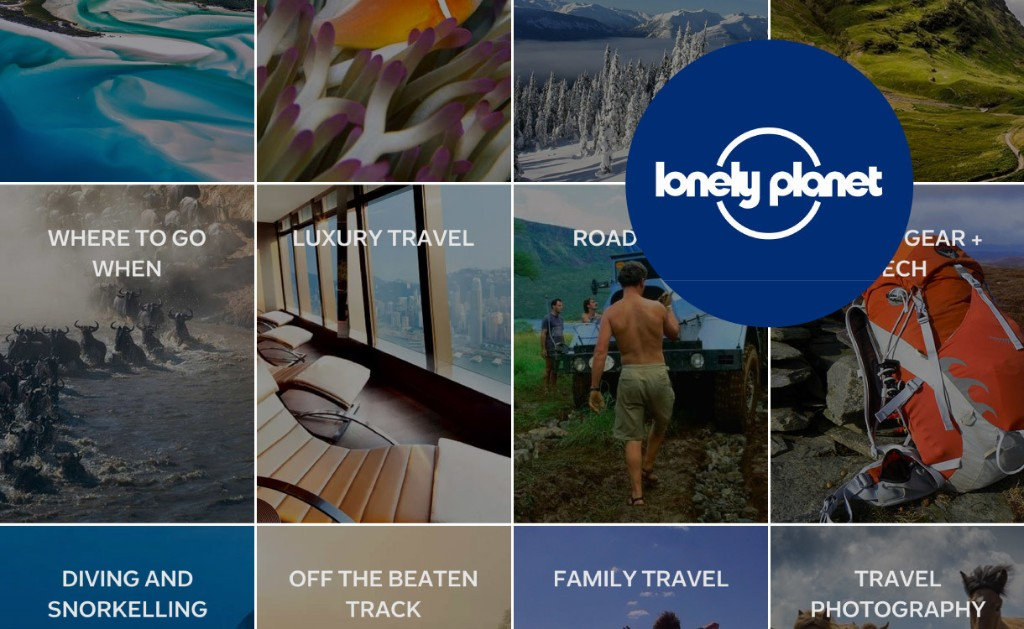 Publisher Spotlight: Lonely Planet