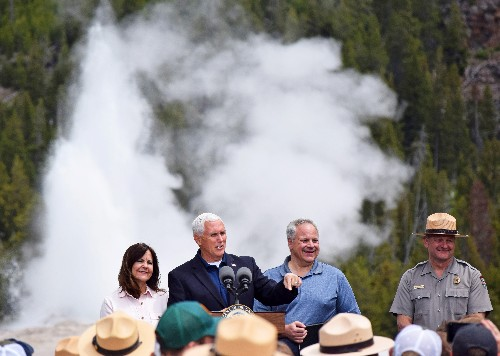 Pence urges spending to repair well-worn U.S. national parks
