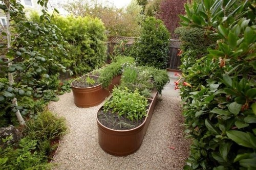 Steal This Look: Water Troughs as Raised Garden Beds