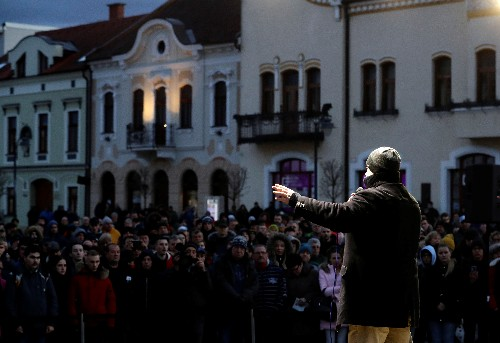 Slovak far-right leader on trial for hate speech may play election kingmaker