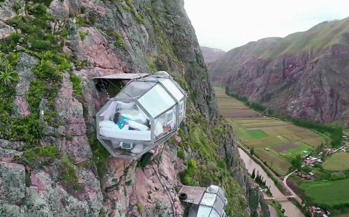 The most extreme hotels around the world