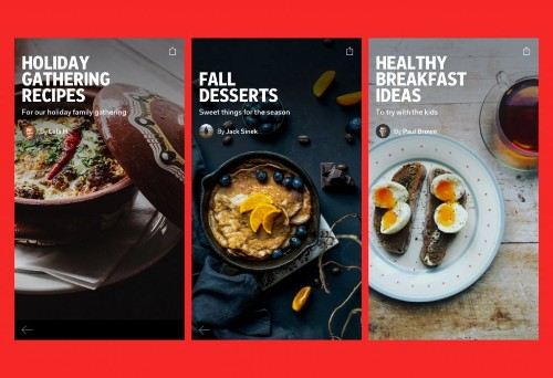 How to Save Recipes in a Flipboard Magazine