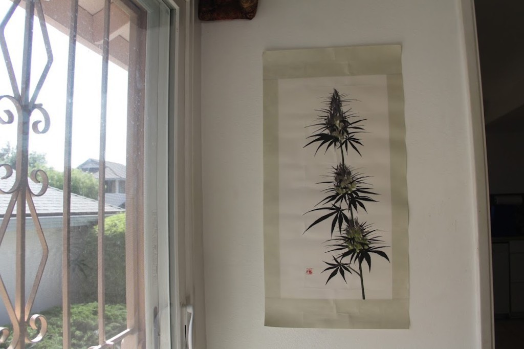 Traditional Chinese Paintings of Cannabis Aim to Change Perceptions About the Medicinal Plant