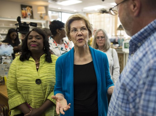 Warren in Alabama to wrap up 3-state Southern swing