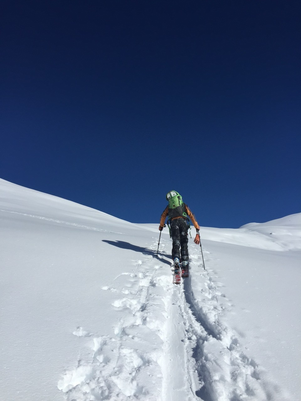 Ski touring is the best exercise!