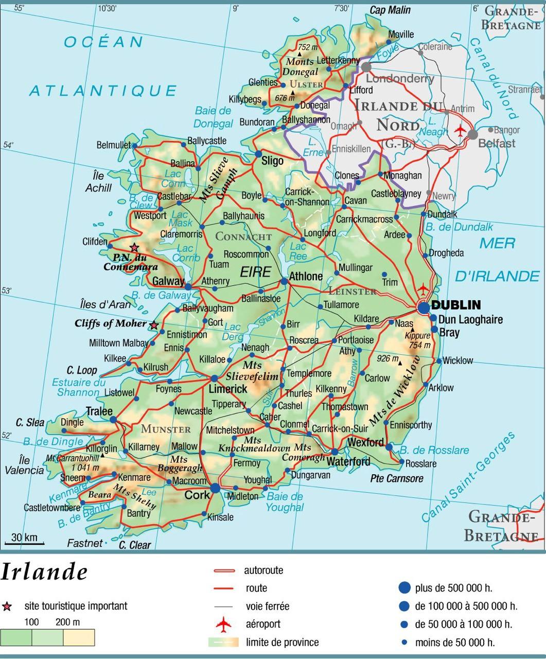Comté de Cork en Ireland