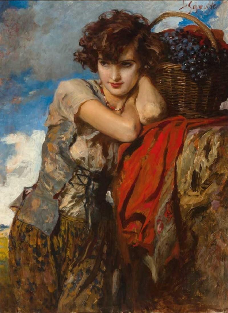 यूँ तो होते हैं मोहब्बत में जुनूँ के आसार और कुछ लोग भी दीवाना बना देते हैं ...... ज़हीर देहलवी 'Gypsy Grapes Seller', 1913 Painting by Leopold Schmutzler, German, 1864 - 1940 ________________________ यूँ तो होते हैं मोहब्बत में जुनूँ के आसार और कुछ लोग भी दीवाना बना देते हैं जुनूँ : frenzy, lunacy, madness दीवाना : Crazy, mad There are symptoms of lunacy in love affair, furthermore people project them like crazy.