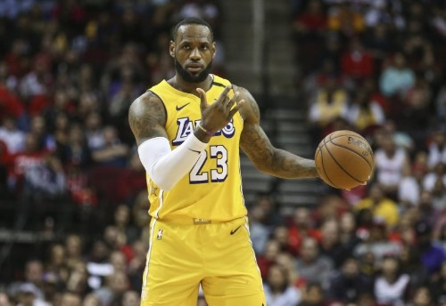 NBA roundup: LeBron, D lead Lakers by Rockets