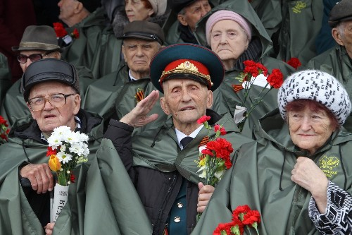 Celebrating the 73rd Anniversary of the End of WWII: Pictures