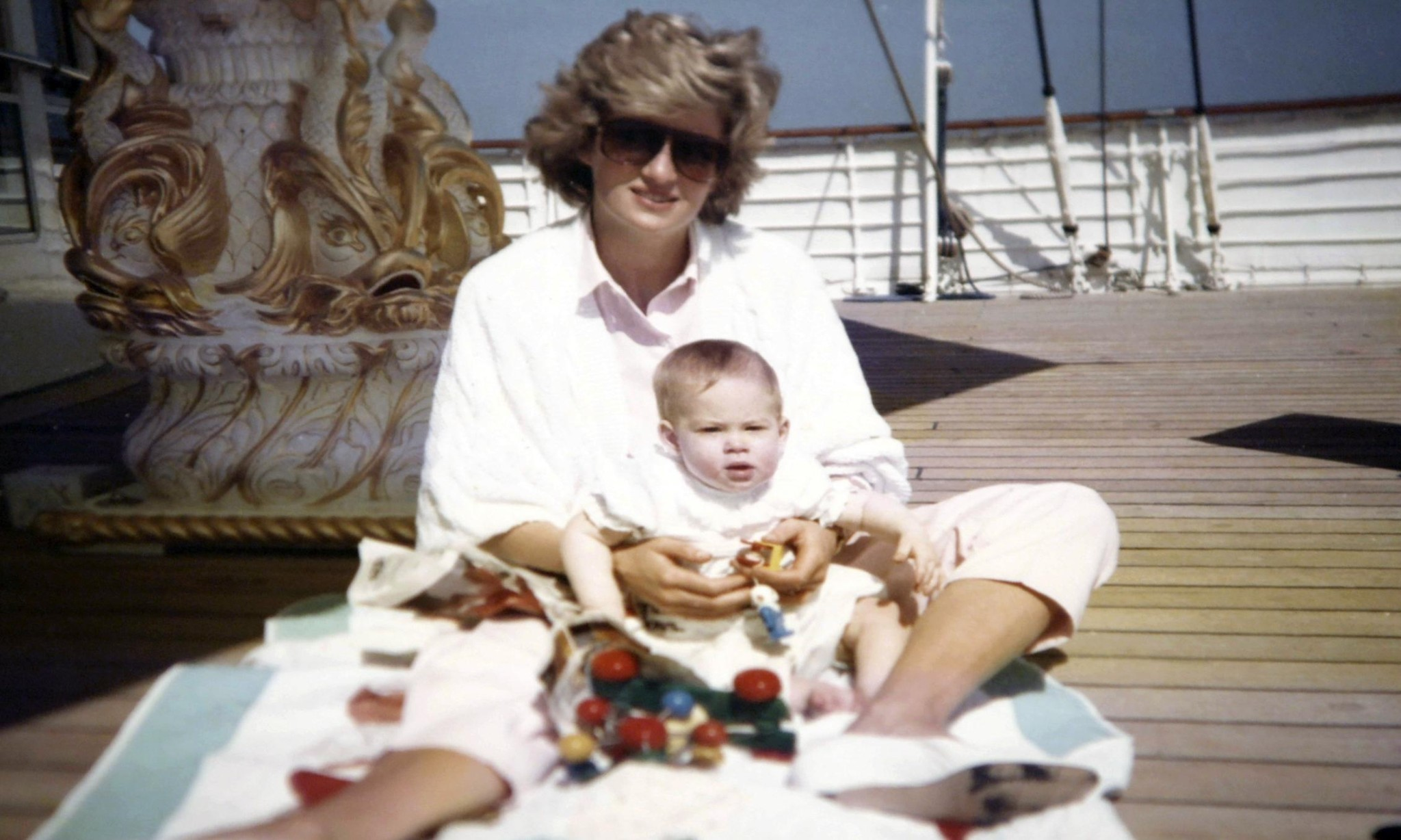 William speaks of regret as photos from Princess Diana's collection published