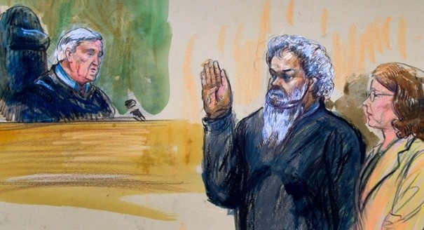 Weary Benghazi suspect cooperates inside D.C. courtroom