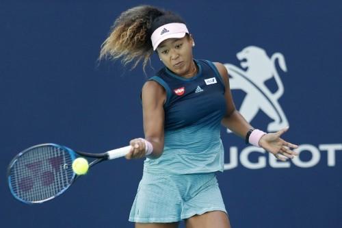 Tennis: Osaka enjoys rollercoaster win in Miami