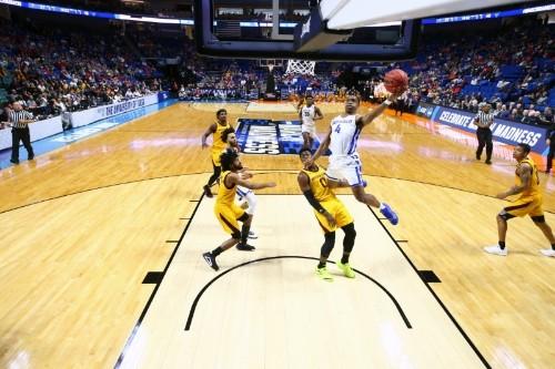 Harris, Perkins help Buffalo rout Arizona State