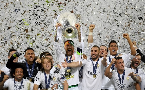 Real Beats Atletico to Win Champions League: Pictures