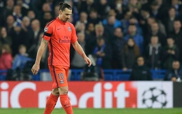 Chelsea 2 PSG 2, Champions League last 16: Zlatan Ibrahimovic slams Jose Mourinho's 'babies'