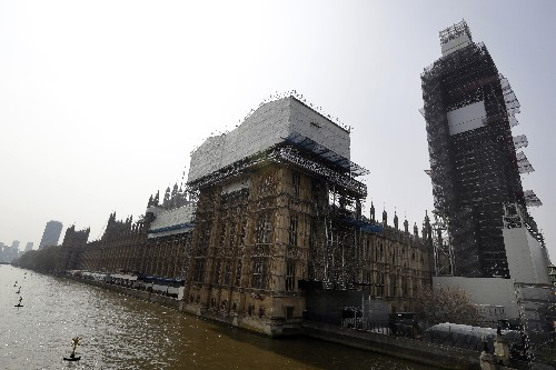 Notre Dame fire raises fears for UK's crumbling Parliament