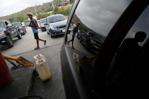 Venezuelan soldiers oversee fuel rationing in some towns amid shortages