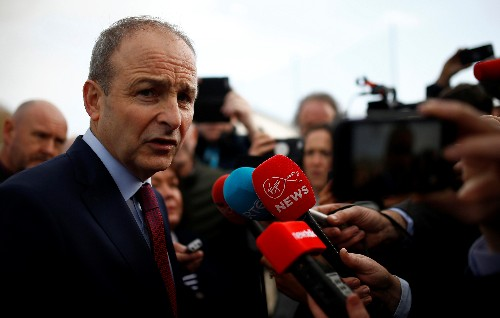 Ireland's Fianna Fail, Fine Gael to meet for initial government talks