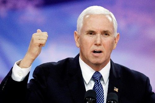 Pence says encouraged that Mexico is willing to do more on immigration