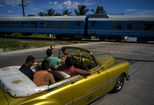 Cuba debuts modern Chinese train as rail overhaul begins
