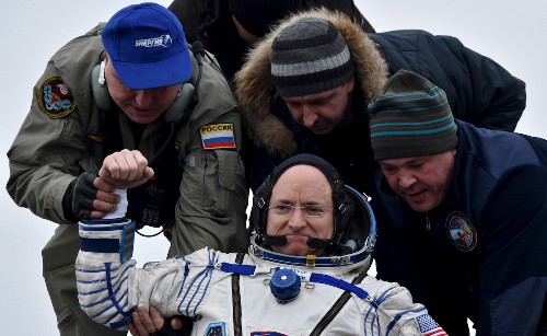 The Week in Review: Astronauts Return After Year in Space