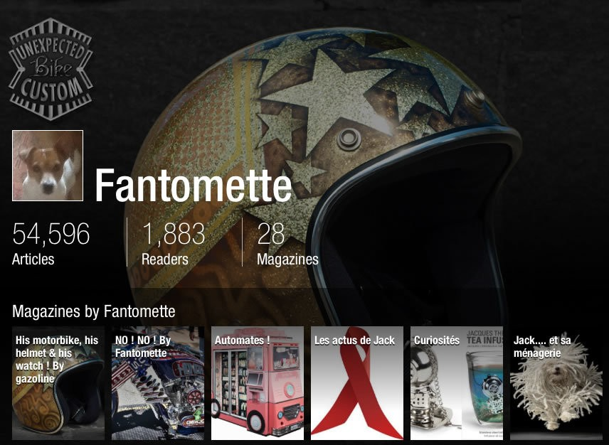 What Happened When I Fell Into Fantomette's Wonderful World of Flipboard Magazines