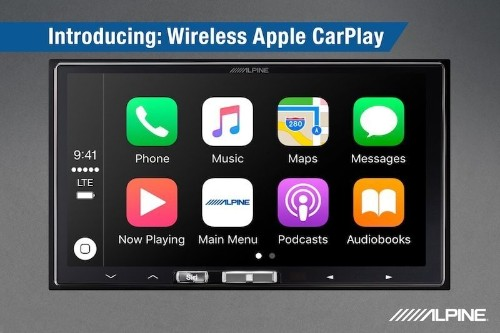 Alpine Introduces $900 Infotainment System With Wireless CarPlay