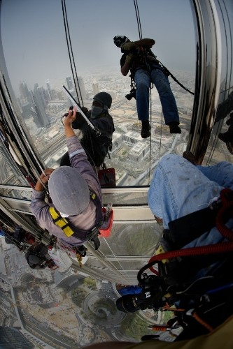 THE SHOT: Window Washing in Dubai