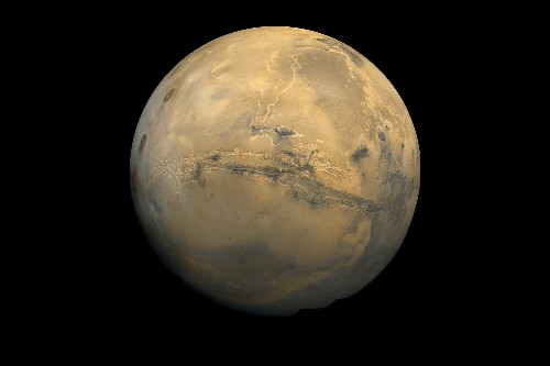 Snow Falls on Mars in the Summer
