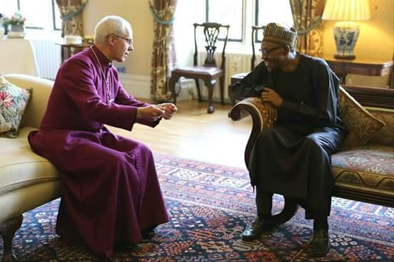 BUHARI LISTENING TO THE WORD OF GOD BEFORE HE GAVE HIS LIFE TO CHRIST - Magazine cover