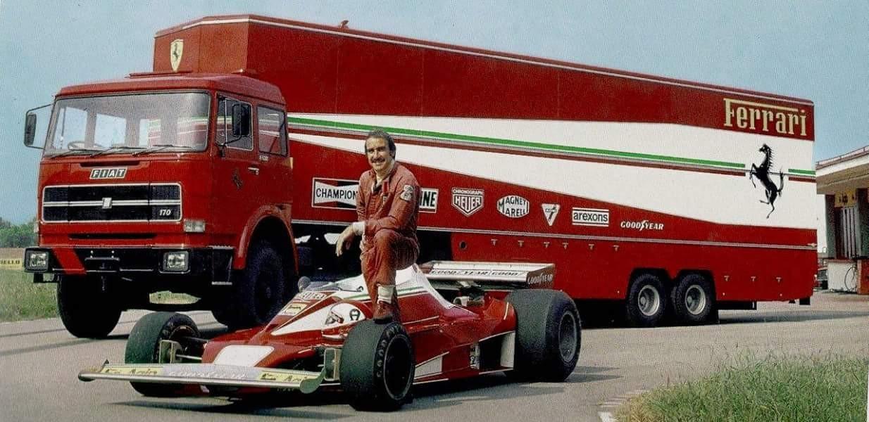"One of the most beloved F1 drivers of all time Gianclaudio ""Clay"" Giuseppe Regazzoni aka Regga."