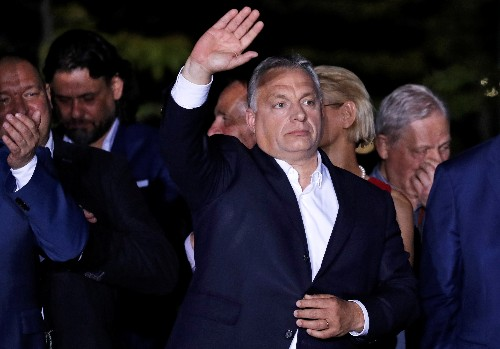 Hungary's Orban hopes for anti-immigration shift in Europe in vote