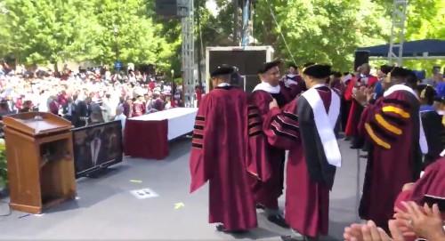 Atlanta college graduation speaker pledges to pay off students' debt