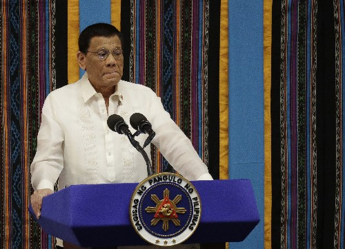 Duterte: No way to stop China from fishing in exclusive zone