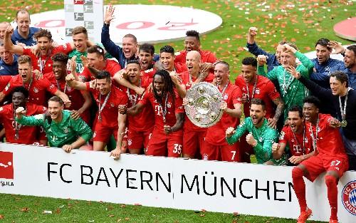 Soccer: List of Bundesliga champions since 1963