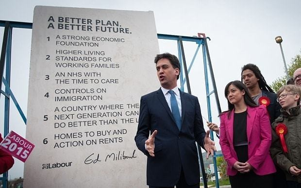 Don't let Ed Miliband sink this country with his commie slab of rock