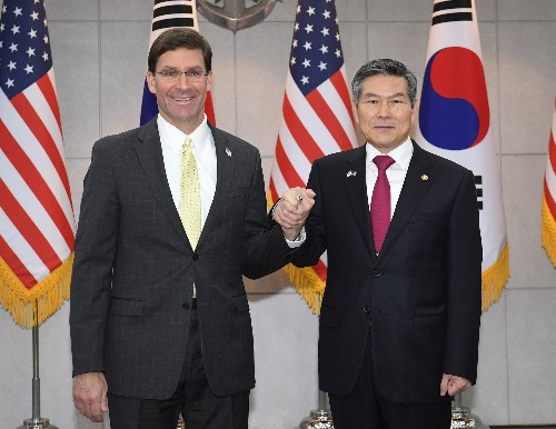 South Korea, U.S. defence chiefs reaffirm commitment to defend against North Korea