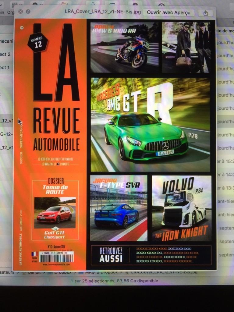 LA REVUE AUTOMOBILE - Magazine cover