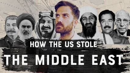 How The U.S. Stole The Middle East and other untold stories.