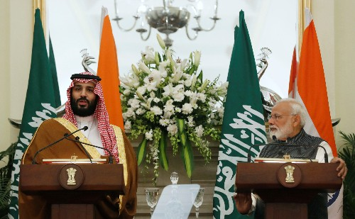"""Saudi prince sees """"useful returns"""" from expected $100 billion investment in India"""