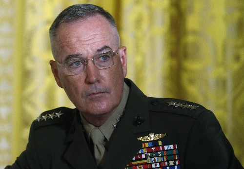 Top U.S. general confident allies will step up in Syria