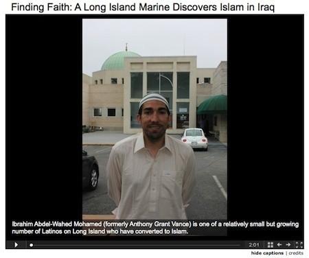 A Marine Discovers Islam in Iraq