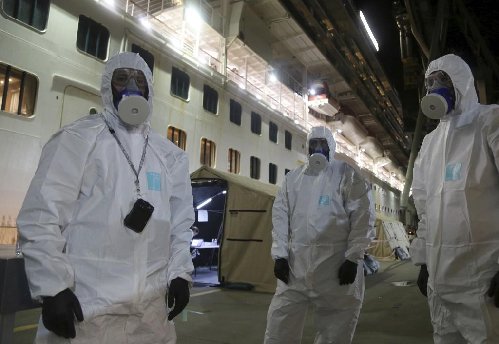 Ship at center of virus outbreak raided by Australian police